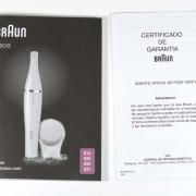 Braun Face SE830 accessori