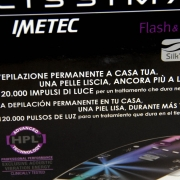Imetec Bellissima Flash&Go Plus confezione