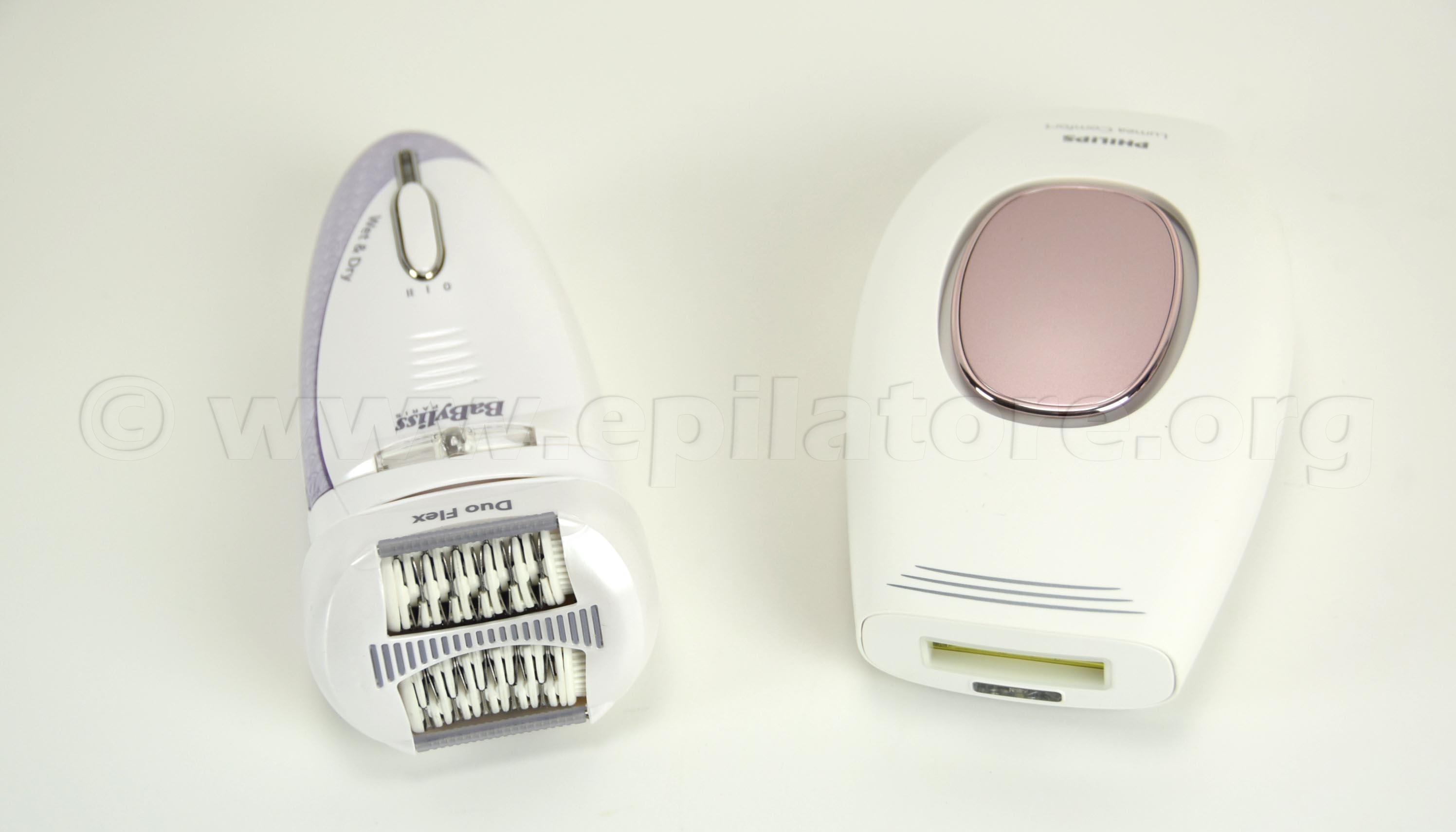 I modelli di epilatore