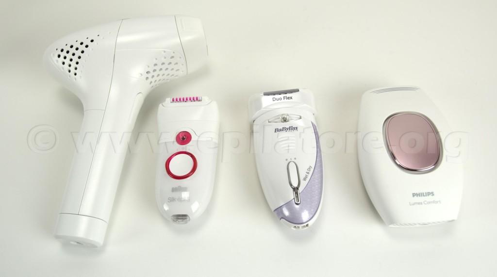 Tipi di epilatore
